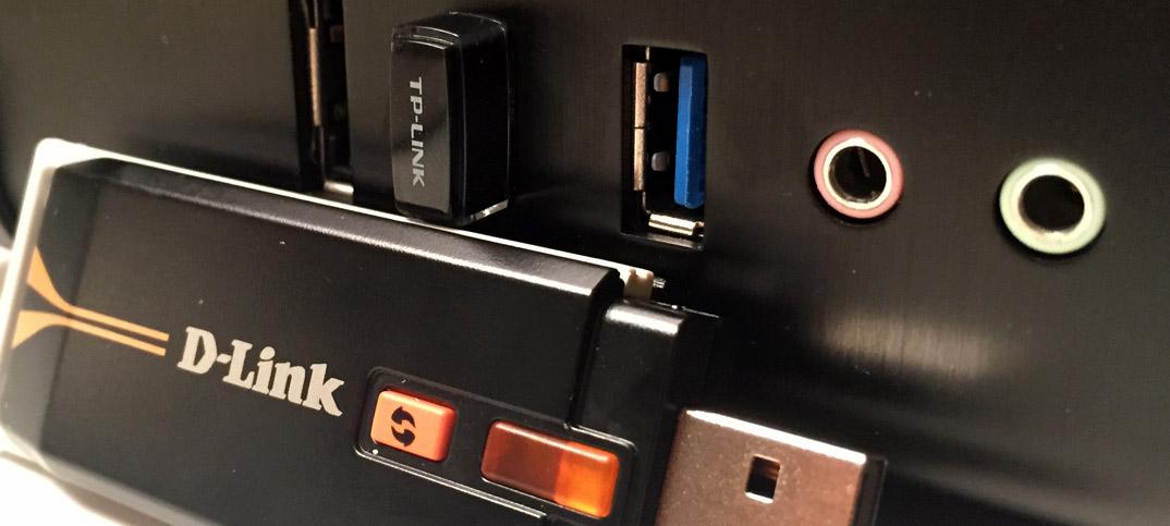 Titelbild - Koppla en stationär dator till ett trådlöst nätverk