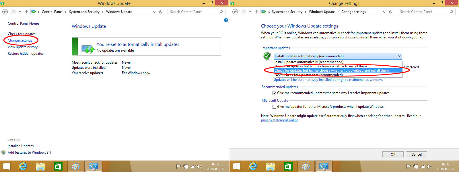 Windows 8 - Update 3