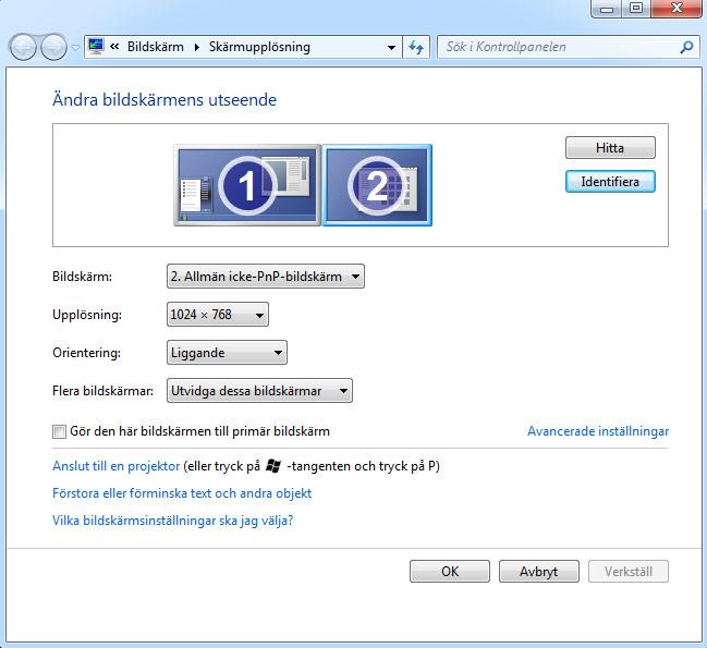 TV-Dator - Windows 3