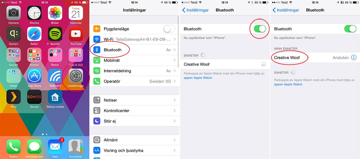 Bluetooth - iPhone