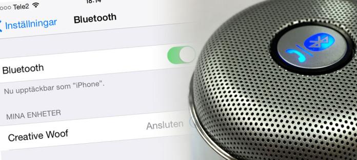 Titelbild - Skicka musik med Bluetooth