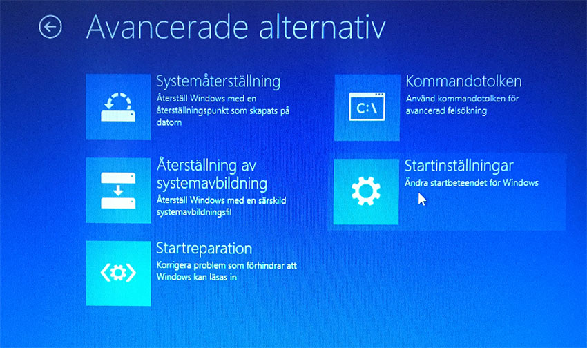 Windows 8 - Felsäkert läge 6