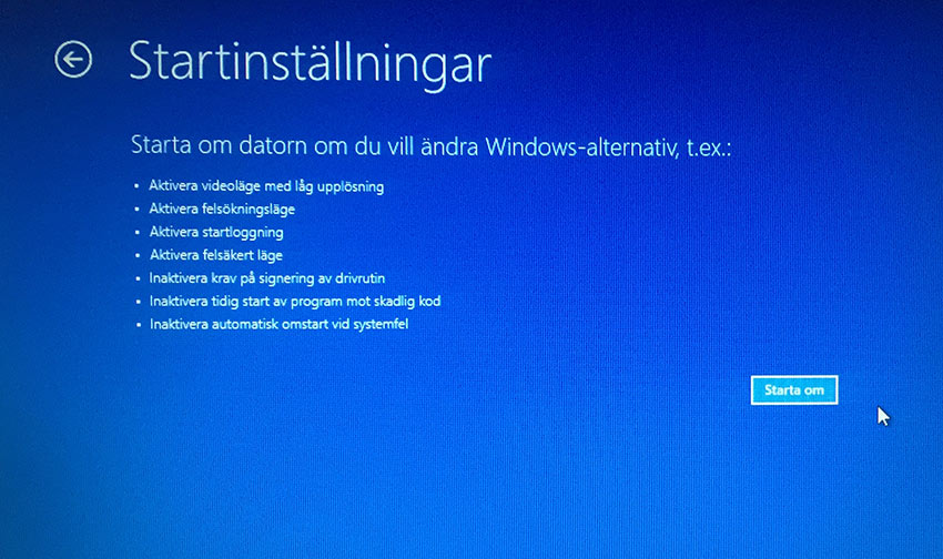 Windows 8 - Felsäkert läge 7