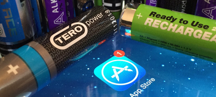 batteritid iphone 8