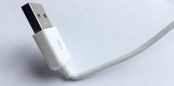 iPhone iPad laddar inte - Böjd sladd