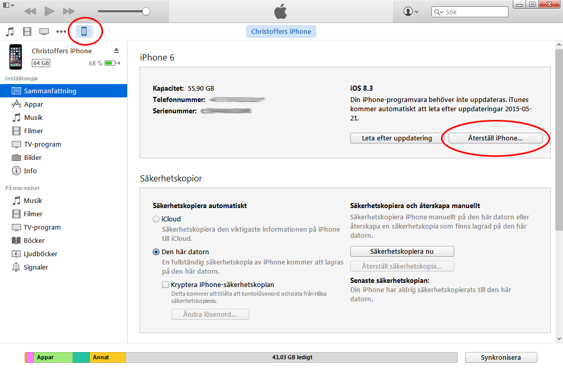 iPhone & iPad laddar inte Så löser du det! | enkelteknik.se
