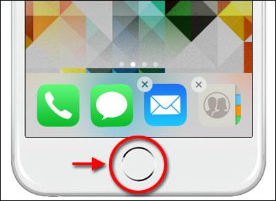 Stäng av - Ta bort appar - Skakar - iPhone - iPad
