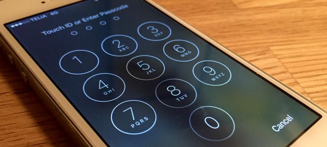 Titelbild - iPhone, iPad Glömt lösenkoden, lösenord