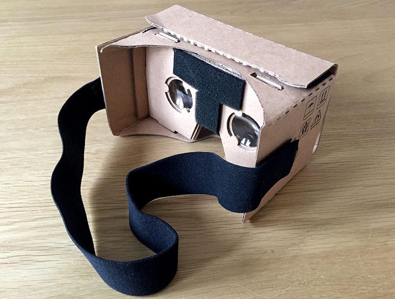Google Cardboard VR Headset - VR Glasögon - Julklapp