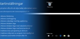 Titelbild - Starta Windows 10 i Felsäkert läge