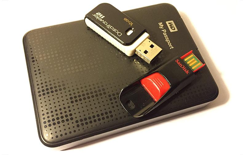 ExFAT - Bäst för USB-minnen och externa hårddiskar