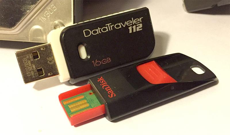 FAT32 - Bäst för mindre, små USB-minnen