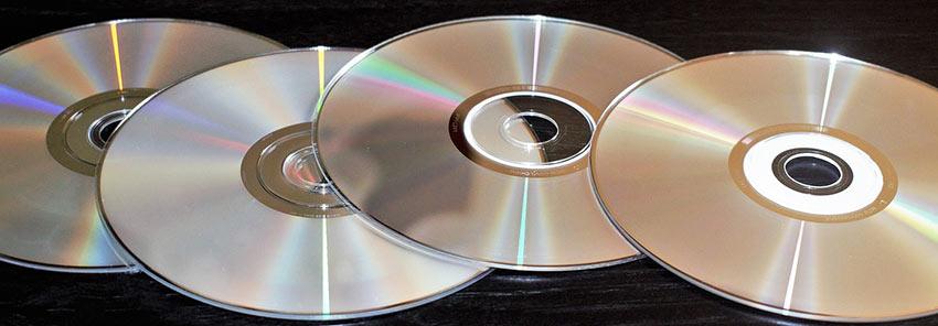 DVD-skivor - DVD-plus, DVD-minus-streck