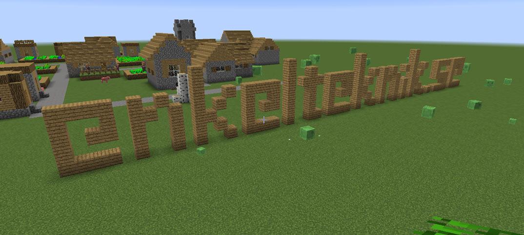Minecraft server lämplig för barn