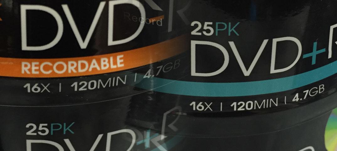 Vad är det för skillnad på DVD+R och DVD-R (DVD plus och DVD minus)