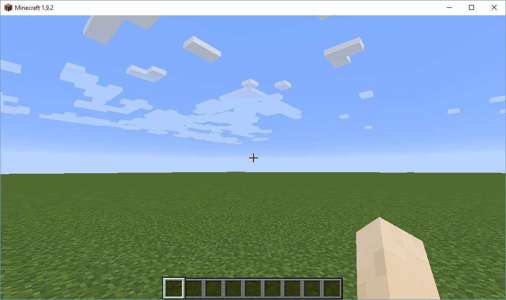 Minecraft - En egen server - Värld startad