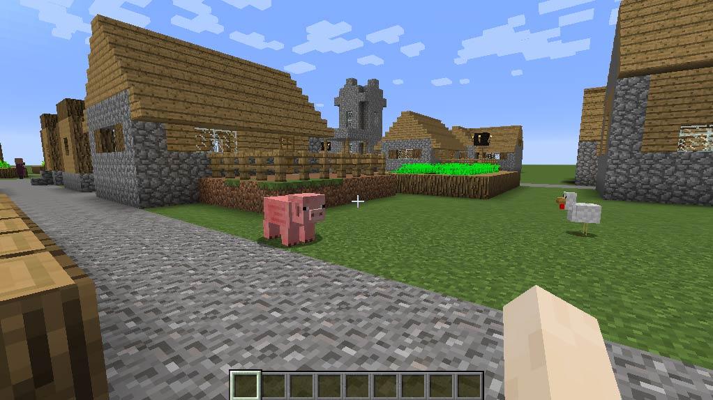 Minecraft - En värld bestående av block