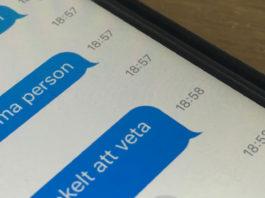 Se exakt tid när ett SMS togs emot på iPhone