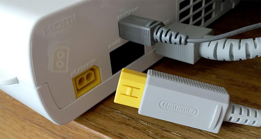 Wii U - Strömadapter utdrage - Reset