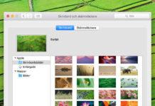 Byt bakgrundsbild / Wallpaper på Mac