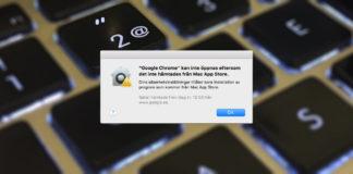 Kan inte öppnas eftersom programmet inte hämtades från Mac - Öppna nedladdade program