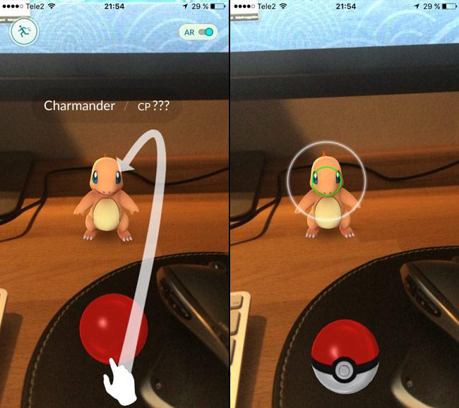 Pokemon Go - Fånga din första Pokemon