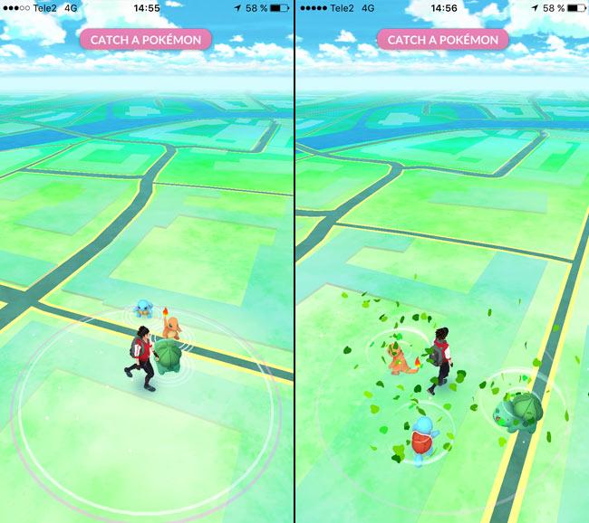 Pokemon Go - Gå iväg från Pokemon igen - Pikachu