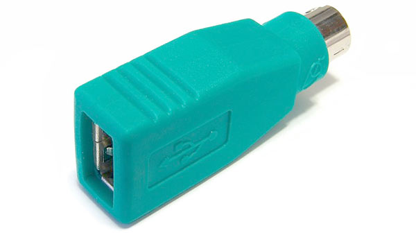 USB till PS/2-adapter - Windows 10 - Mus