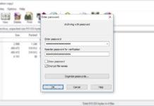 Sätt lösenord på en RAR-fil - Lösenordsskydda en RAR-fil