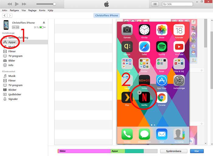 iTunes - Appar - Radera app från iTunes