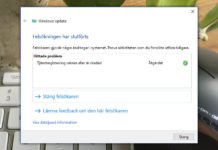 Windows Update fungerar inte - Windows 10 - Så löser du det