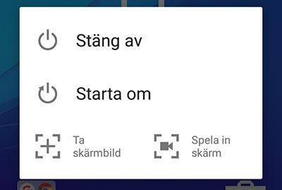 Android-telefon laddar inte - Stäng av telefonen - Starta om