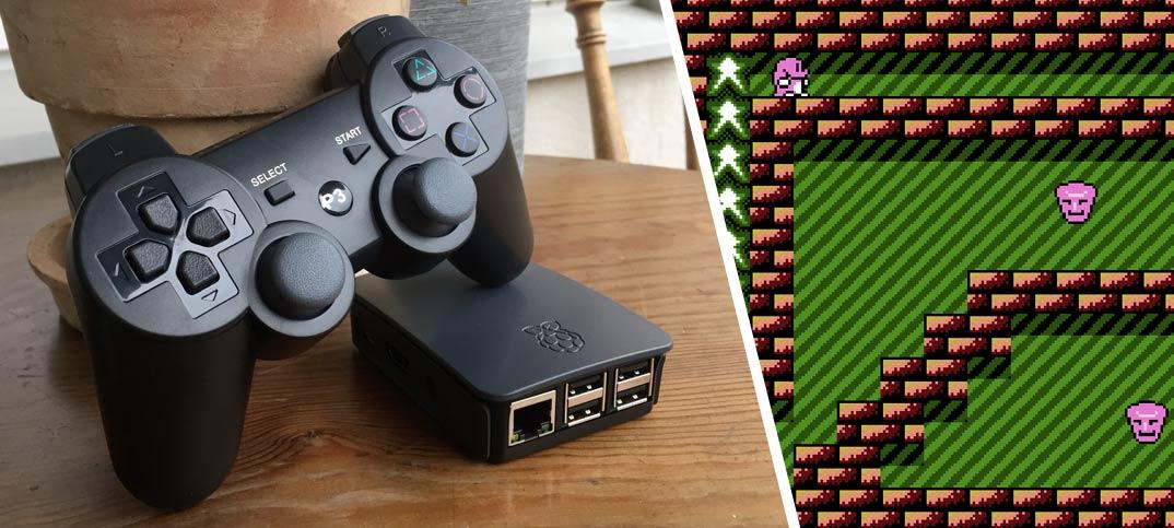 Bygg en TV-spel-emulator av Raspberry Pi och RetroPie