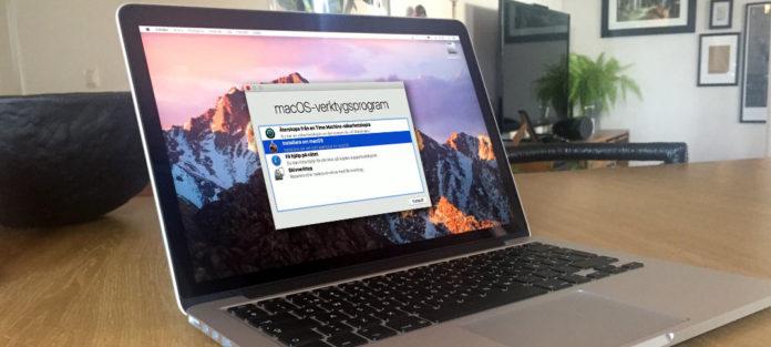 Formatera - Återställ och installera om en Mac-dator (MacBook Pro)