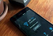 Skicka bilder och filer trådlöst - Android-telefon till Dator PC