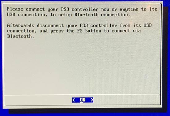 RetroPie - Koppla in PS3-handkontroll med sladd