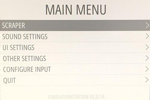 RetroPie - Scraper - Ladda ner omslag och information till spel