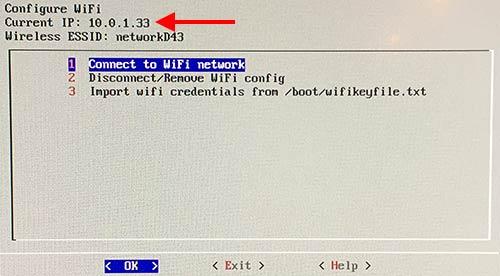 RetroPie - Wi-Fi - Fått en IP-adress