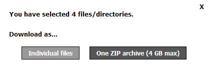 WiFi File Transfer - Android - Överför filer trådlöst - Hämta flera filer