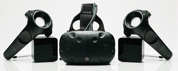 HTV Vive - VR-headset - Kontroller - Spårning