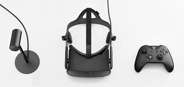 Oculus Rift - VR-headset - Kontroll