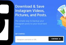 Gör backup på och spara dina Instagram-bilder och filmer