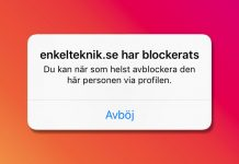 Blockera någon - en person - på Instagram