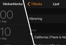 Stäng av vibration - vibrering - iPhone - Alarm