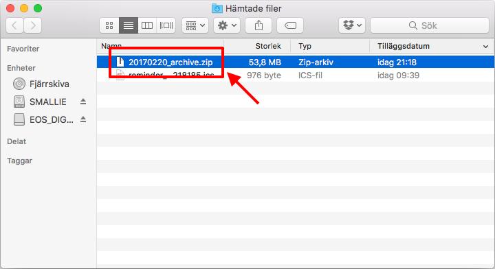 Safari - Packar inte upp ZIP-filer automatiskt längre