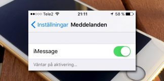 iMessage - FaceTime - fungerar inte på iPhone - iPad -iPod
