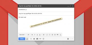 Ångra ett skickat mejl - E-post-meddelande i Gmail