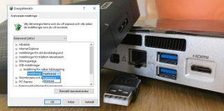 Få Windows att inte automatiskt stänga av USB-enheter
