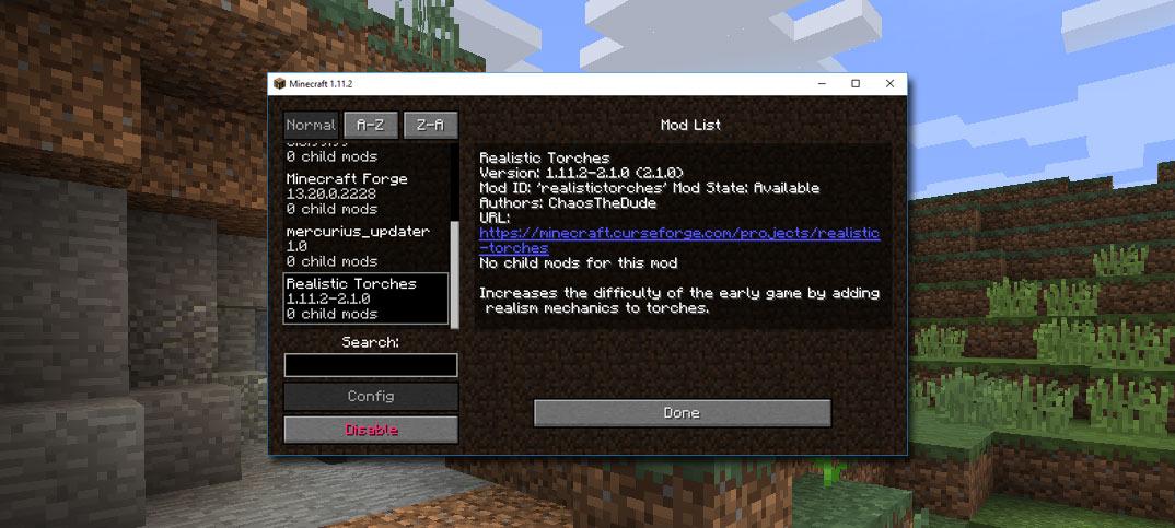 Ladda ned och installera mods (moddar) på Minecraft