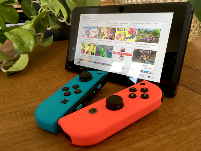 Nintendo Switch - Joy-con - Bortkopplade